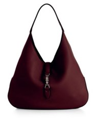 Gucci Jackie Soft Leather Hobo Bag Camel