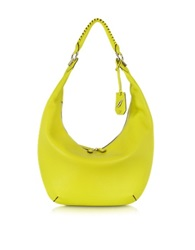 Diane Von Furstenberg Sutra Crescent Leather Hobo Bag
