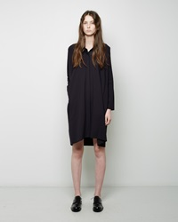 Zero Maria Cornejo Tasi Shirt Dress Ink