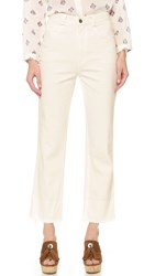 Rachel Comey Slim Legion Jeans Dirty White