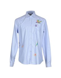 Macchia J Shirts Shirts Men Sky Blue