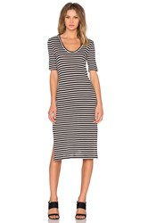 Kain Label Moby Dress Black And White