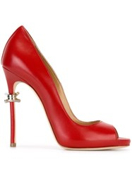 Dsquared2 Barbed Wire Detail Pumps