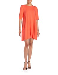 Eileen Fisher Roundneck Tunic Guava