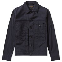 Beams Plus Short Cruiser Jacket Blue
