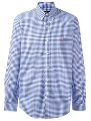 Ralph Lauren Checked Shirt Blue