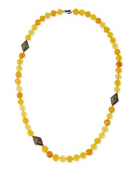 Garden Of Spring And Summer Citrine Necklace Mcl By Matthew Campbell Laurenza