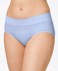 Warner's No Pinches No Problems Striped Hipster Ru0501p Deep Periwinkle