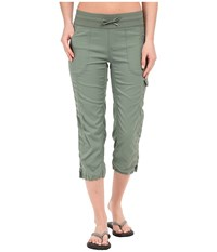 The North Face Aphrodite Capris Laurel Wreath Green Women's Capri