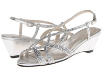 Caparros Lisette Silver Metallic Women's Wedge Shoes