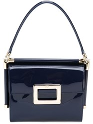 Roger Vivier 'Miss Viv' Shoulder Bag Blue