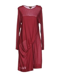 Richmond Denim Dresses Knee Length Dresses Women Garnet