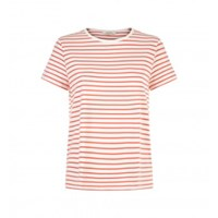 People Tree Coral Callie Stripe Tee