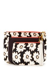 Fossil Ivy Triple Pouch Multi
