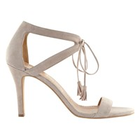 Mint Velvet Phoebe Stiletto Sandals Neutral
