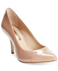Inc International Concepts Women's Zitah Pointed Toe Pumps Only At Macy's Women's Shoes Nude Patent