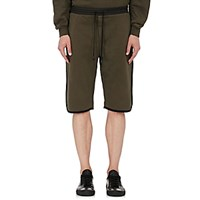 Public School Men's Tryan Fleece Shorts Green