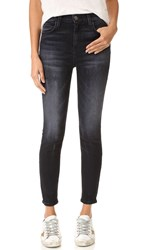 Current Elliott The Super High Waist Stiletto Jeans Bad Company