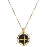 Kiki Minchin Women's The Roxy Cage Necklace Gold Black