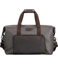 Tumi Double Expansion Travel Satchel Earl Grey