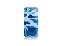 Blue Camouflage Army Design Iphone 4 4S Iphone By Vdirectcases