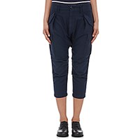 Nlst Women's Harem Cargo Pants Navy