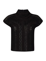 Label Lab Limited Edition Victorian Blouse Black