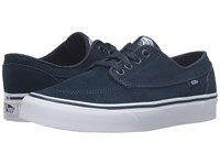 Vans Brigata Suede Dress Blues True White Skate Shoes Black
