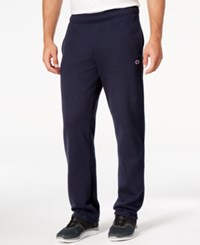 Champion Men's Fleece Powerblend Pants Navy
