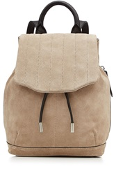 Rag And Bone Rag And Bone Pilot Suede Backpack Beige