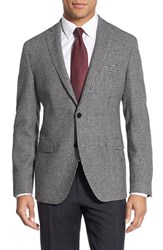 Boss Men's 'Ross' Trim Fit Houndstooth Wool Blend Sport Coat