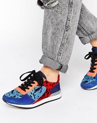 Religion Notorious Trainers Blue