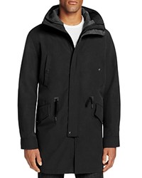 Cole Haan Hooded Anorak Black