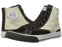Huf Classic Hi Vintage White Black Men's Skate Shoes