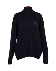 Paul And Shark Cardigans Dark Blue