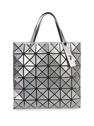 Issey Miyake Lucent Basic Tote Silver