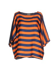 Alice San Diego Shirts Blouses Women Orange