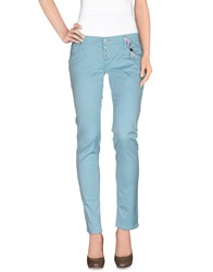 Take Two Trousers Casual Trousers Women Sky Blue