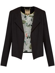 Ted Baker Formie Waterfall Front Jacket Black