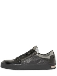 Botticelli Sport Limited Botticelli Limited Metallic And Embossed Leather Sneakers