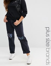 Alice And You Sequin Jean Black