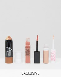 Maybelline Asos Exclusive Contour And Lip Kit Contour And Lip Multi