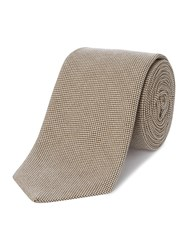Chester Barrie Patterned Tie Beige