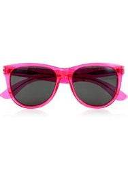 Saint Laurent Surf Neon Sunglasses Pink