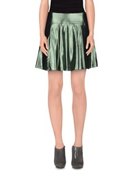 Mauro Grifoni Skirts Mini Skirts Women Green