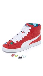 Puma Select Basket Mid X Dee And Ricky Sneakers Ribbon Red White