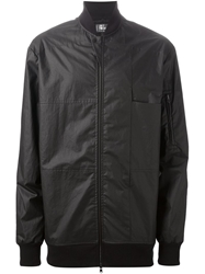 Lost And Found Panelled Bomber Jacket