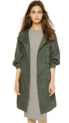 Atm Anthony Thomas Melillo Poplin Parka Moss