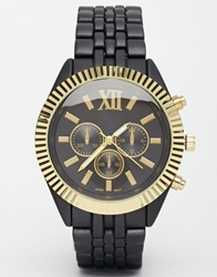 Aldo Osteriaccia Linked Link Boyfriend Watch Black