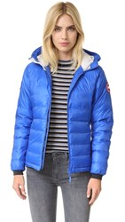 Canada Goose Pbi Camp Hooded Jacket Royal Pbi Blue